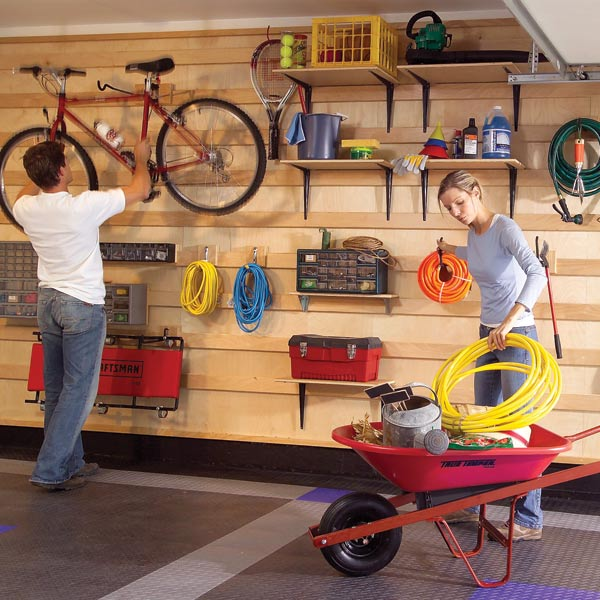 shelving ideas for garage photo - 1