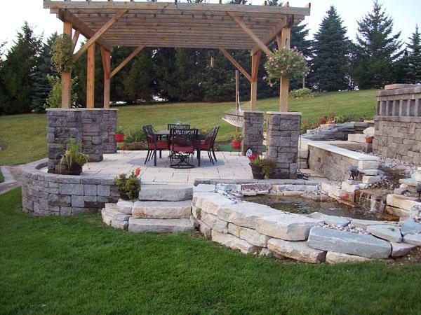 simple backyard patio ideas photo - 1
