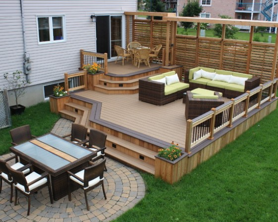 simple backyard patio ideas photo - 2