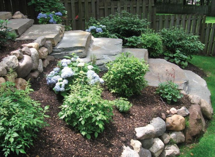Cheap Sloped Backyard Landscaping With Slope Ideas