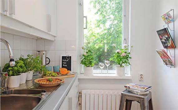 small apartment kitchen decorating ideas photo - 2