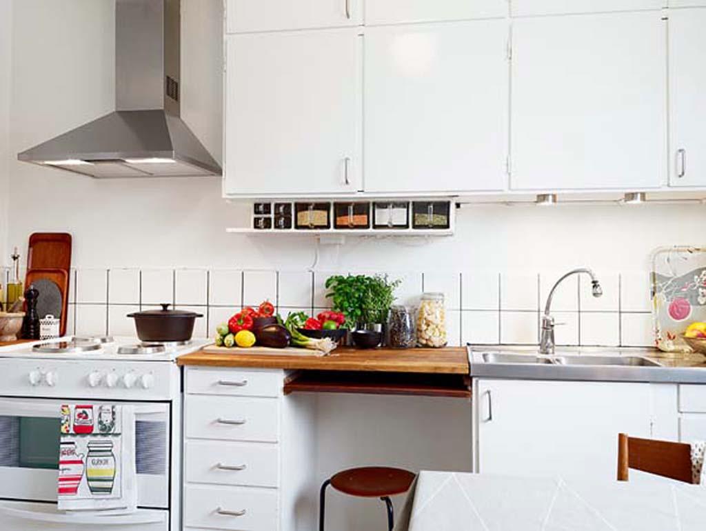 small apartment kitchen design photo - 1