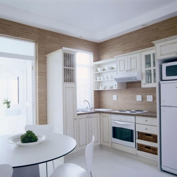 small apartment kitchen design photo - 2
