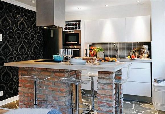 small apartment kitchen design ideas photo - 1