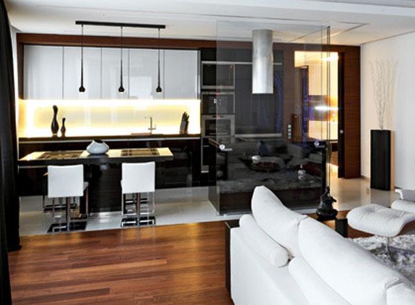 small apartment kitchen design ideas photo - 2