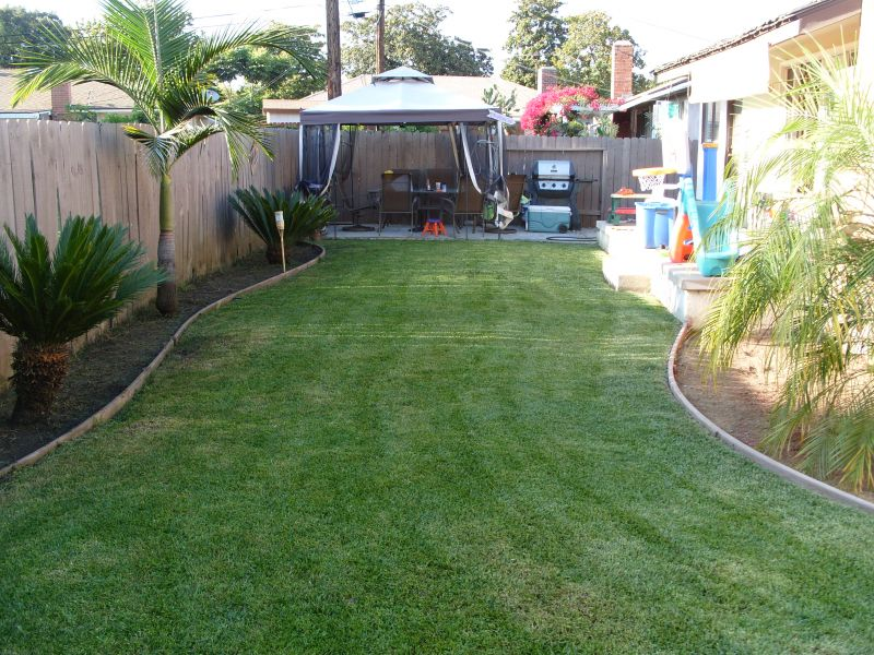 small backyard landscape ideas on a budget photo 2 - Small Backyard Design Ideas On A Budget