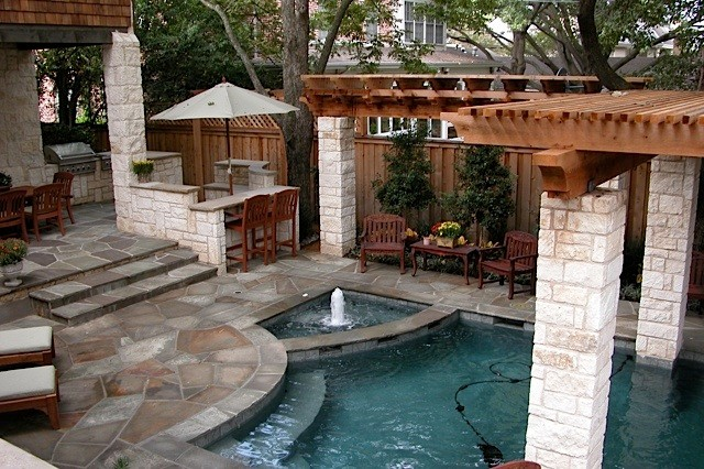 small backyard oasis  large and beautiful photos. photo to select, Backyard Ideas