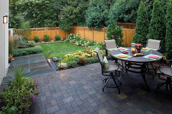 small backyard plans photo - 1