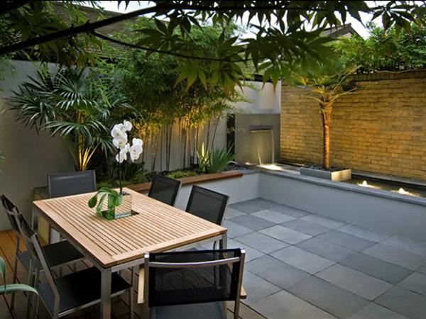 small backyard plans photo - 2