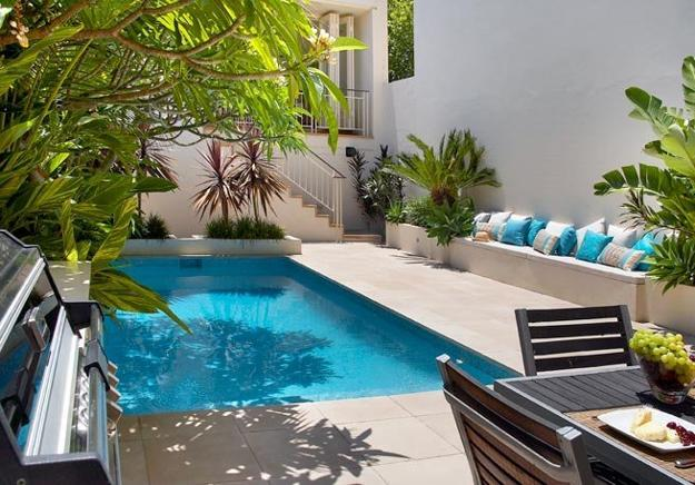 small backyard pool designs photo - 2