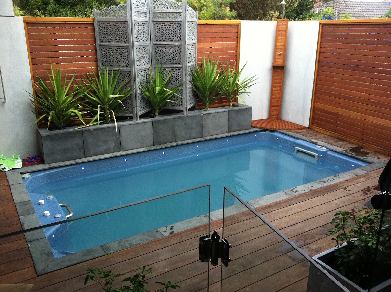 small backyard pools photo - 1