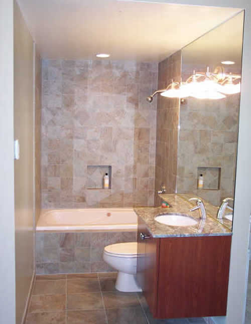 Small bathroom design ideas - large and beautiful photos. Photo to ...