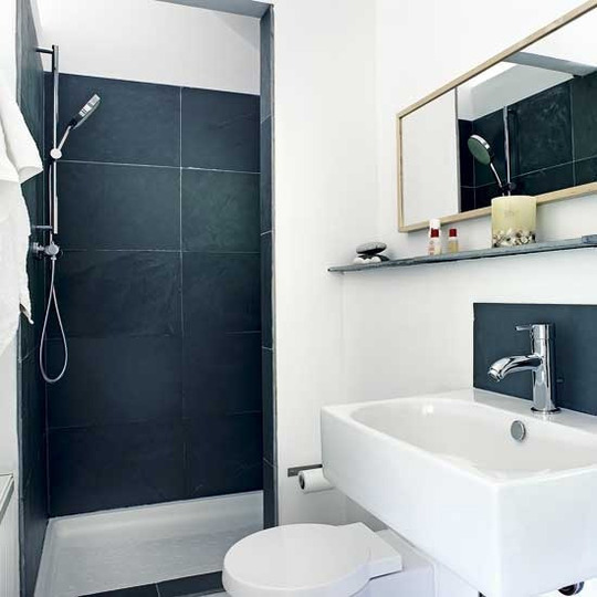 Small bathroom design ideas on a budget large and for Diy bathroom ideas on a budget