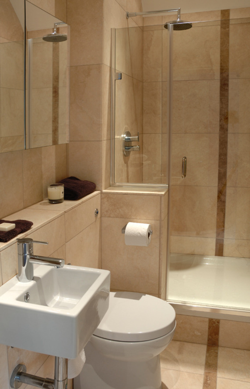 small bathroom remodels before and after photo - 1