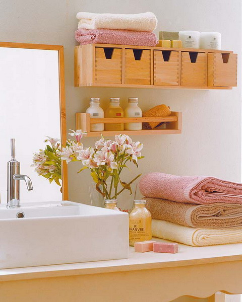 small bathroom storage ideas photo - 1