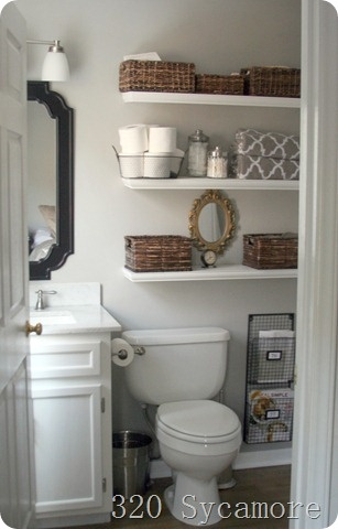 Small Bathroom Storage Solutions Large And Beautiful