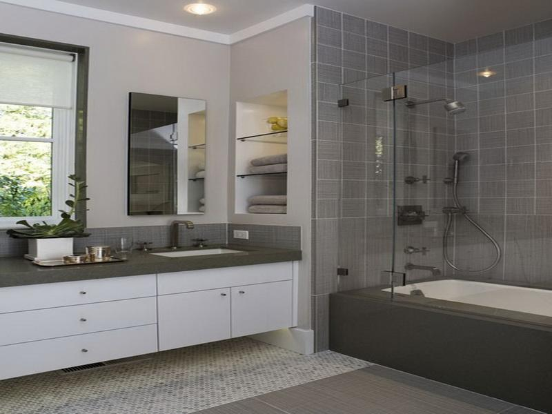 Bathroom Design Ideas With Grey Tiles best 10+ modern bathtub tile ideas inspiration design of top 25+