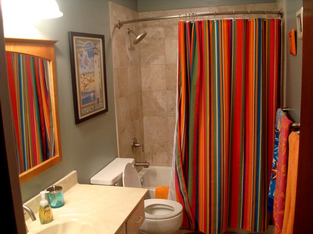 Bathroom window curtain ideas 2