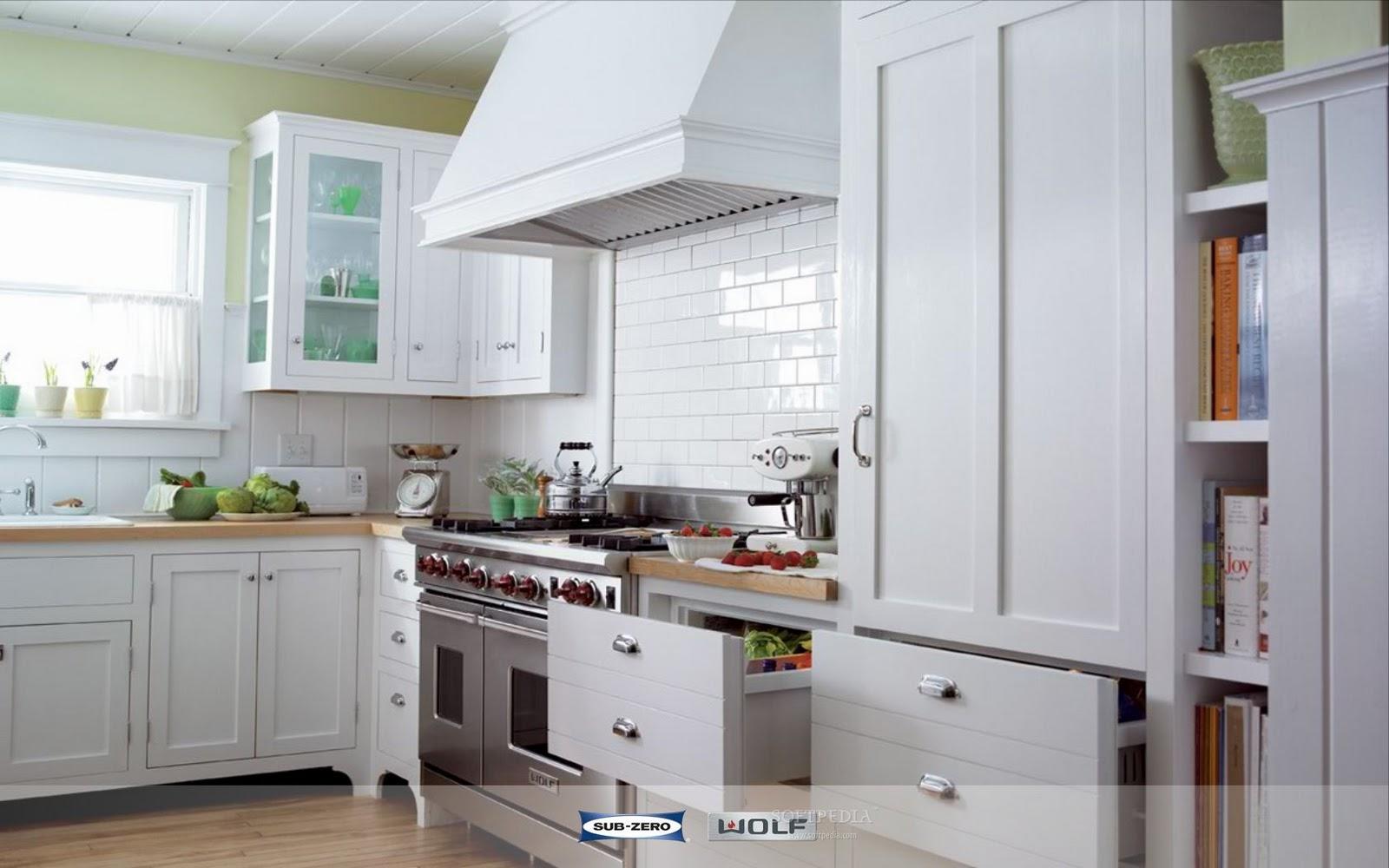 small beautiful kitchens photo - 2