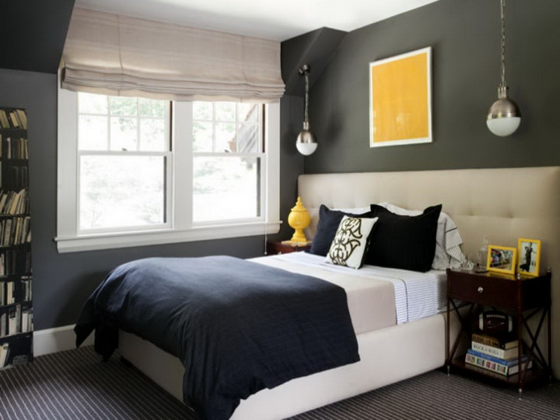 small bedroom color schemes photo - 1