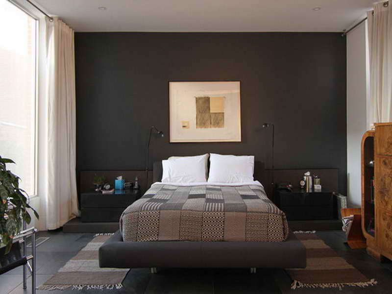 Small bedroom paint color ideas Small bedroom