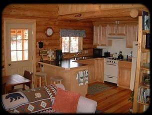 small cabin kitchens photo - 2