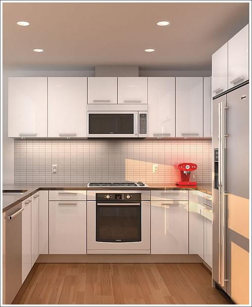 small contemporary kitchens photo - 1
