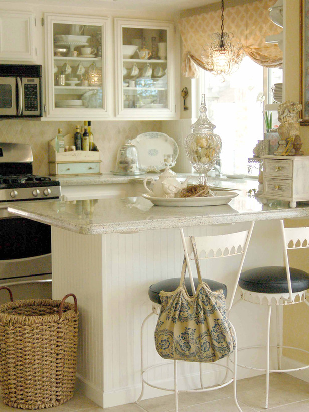 Small Cottage Kitchen Design Ideas Part - 42: Small Cottage Kitchen - Large And Beautiful Photos. Photo To Select Small  Cottage Kitchen | Design Your Home