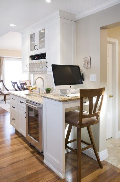 small desk for kitchen photo - 2