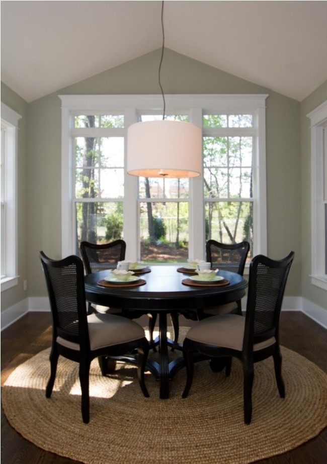 Small dining room ideas large and beautiful photos for Tiny dining space ideas