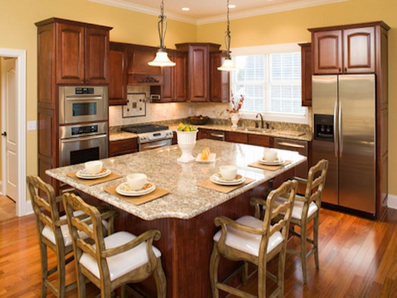 Small eat in kitchen design large and beautiful photos for Small eat in kitchen decorating ideas