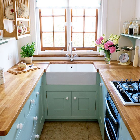Small galley kitchen design ideas - large and beautiful photos ...