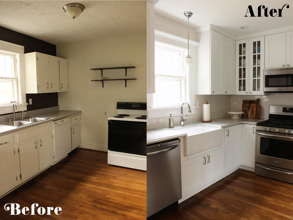 Small Galley Kitchen Makeovers Photo