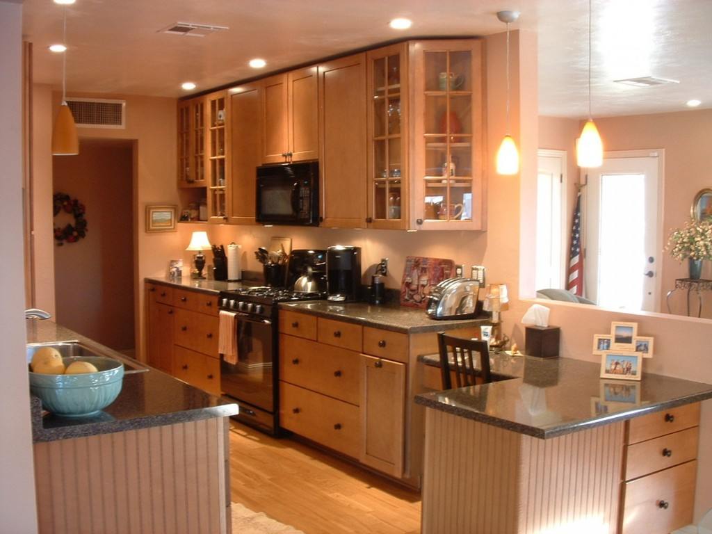 Small galley kitchen remodel ideas photo 1
