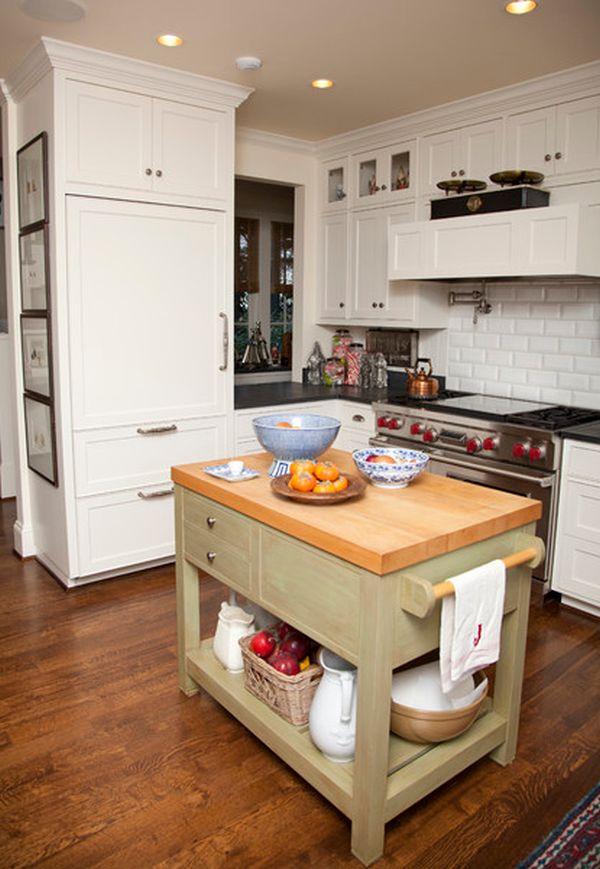 small island in kitchen photo - 1