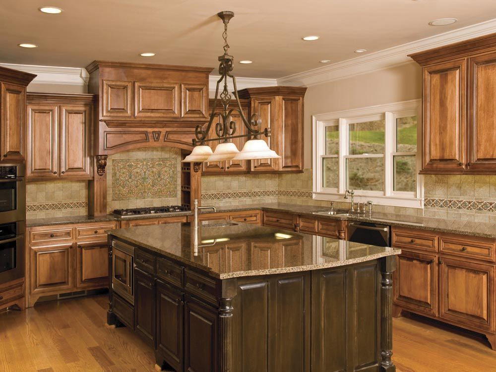 small kitchen backsplash photo - 1