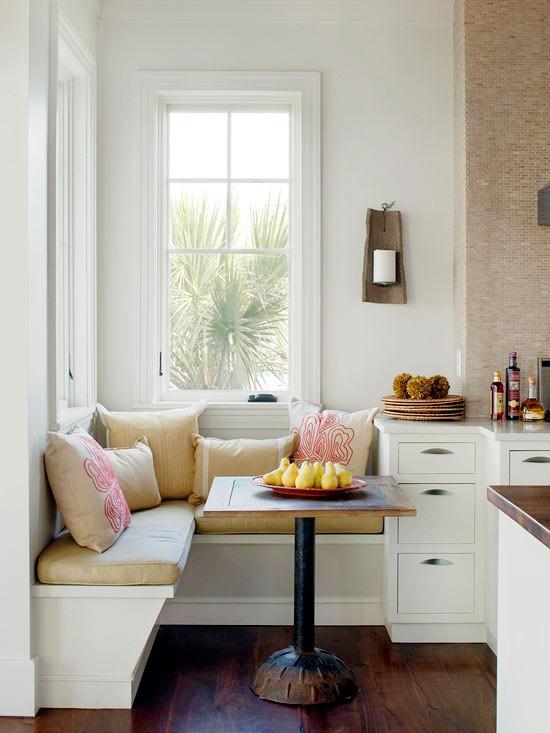 small kitchen banquette photo - 1