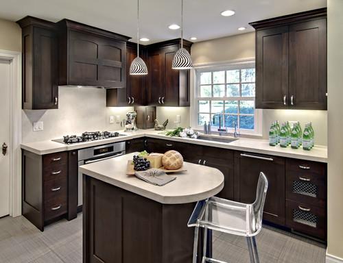small kitchen cabinet ideas photo - 2