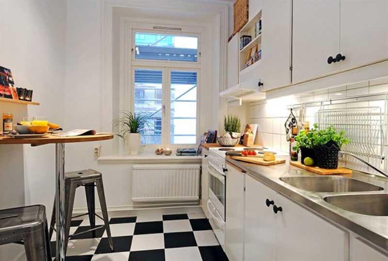 small kitchen decor photo - 2