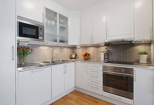 small kitchen decorating ideas for apartment photo - 1