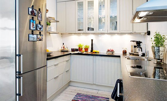 small kitchen decorating ideas on a budget photo - 2