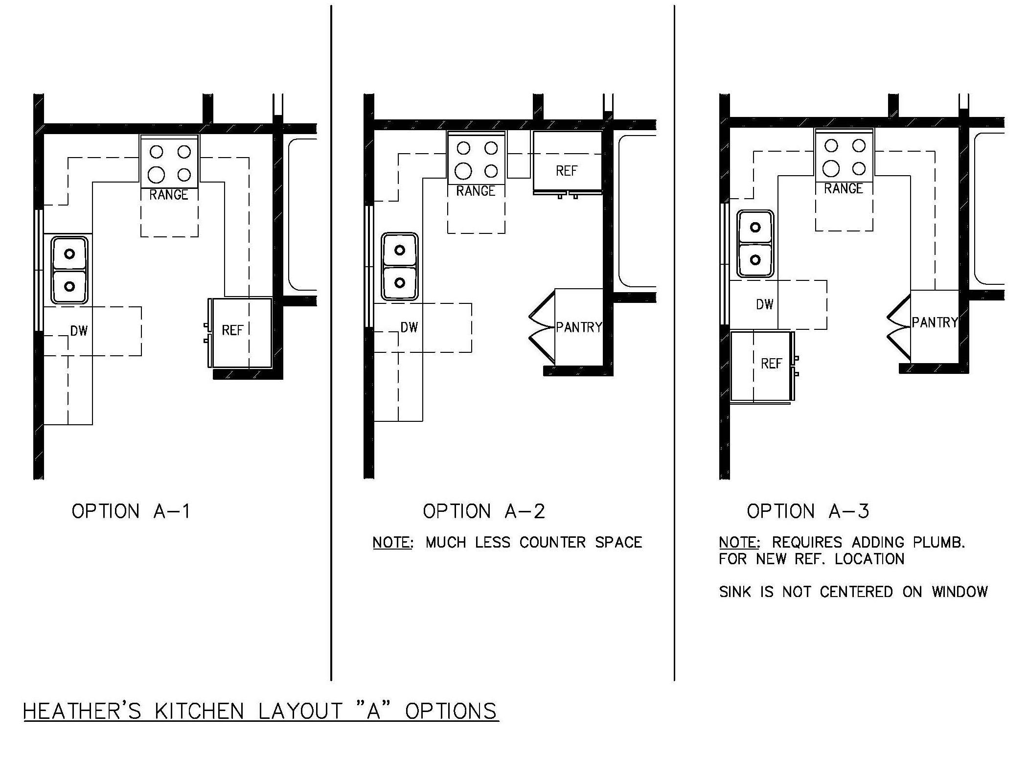 small kitchen design layout photo - 1