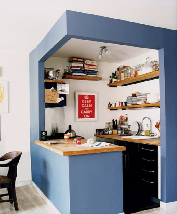 small kitchen design pictures photo - 1
