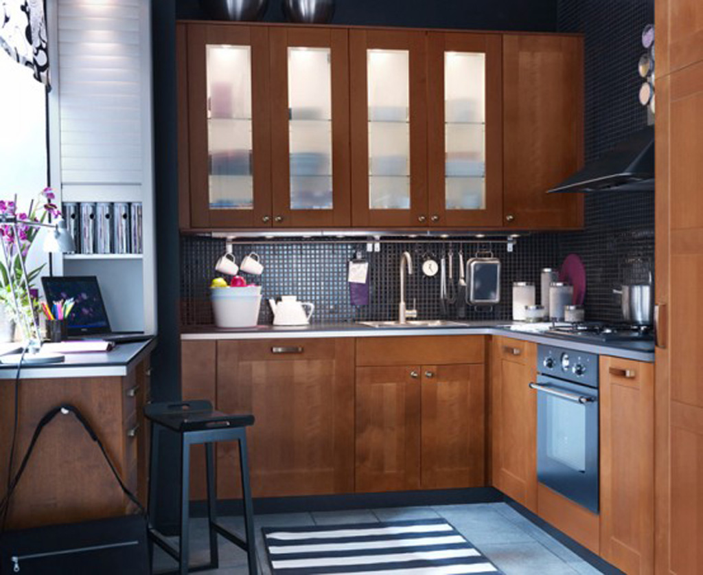 small kitchen designs pictures photo - 1