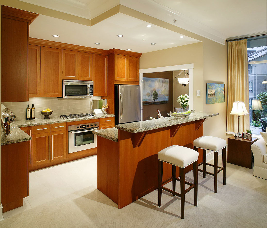small kitchen designs pictures photo - 2