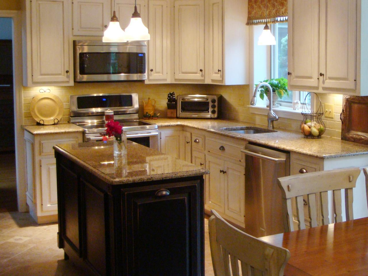 small kitchen designs with island photo - 1