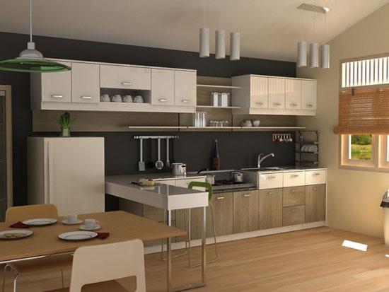 small kitchen furniture photo - 1