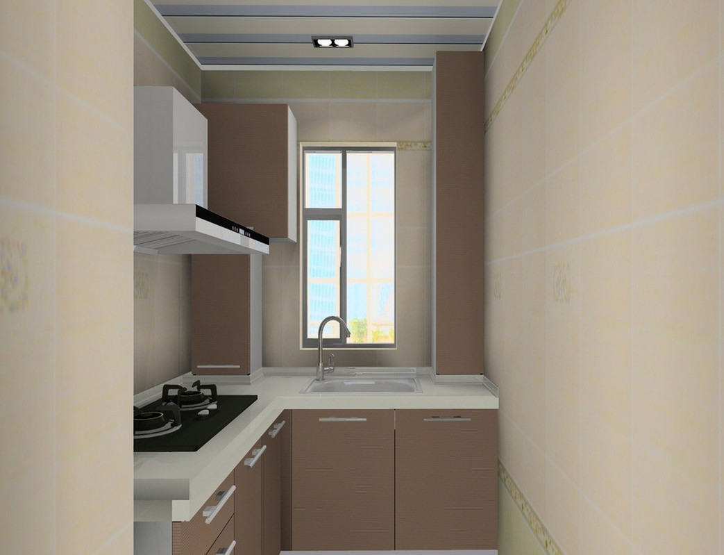 small kitchen interior design photo - 2