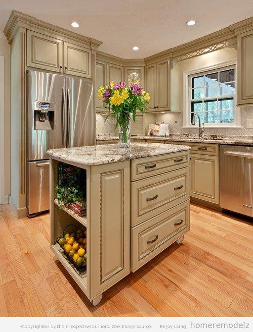 small kitchen island ideas photo - 1
