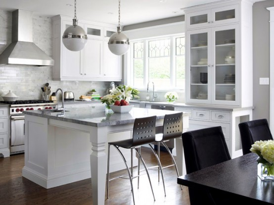 small kitchen island ideas with seating photo - 1
